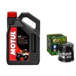 Olej MOTUL 7100 10w40 4T 4L + filtr oleju