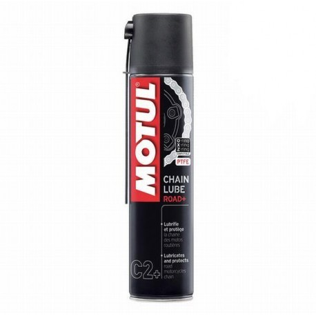Smar do łańcuchów z teflonem -400ml MOTUL C2+ CHAIN LUBE ROAD+