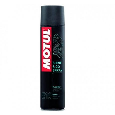 Preparat czyszcząco-ochronny -400ml MOTUL E10 SHINE & GO 400ML