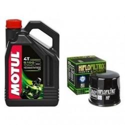 Olej MOTUL 5100 10W40 4L + FILTR