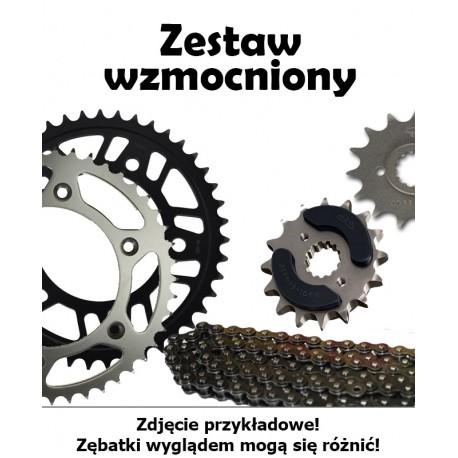 KAWASAKI KLR 650 C1-C8 1995-2003 ZESTAW NAPĘDOWY DID WZMOCNIONY